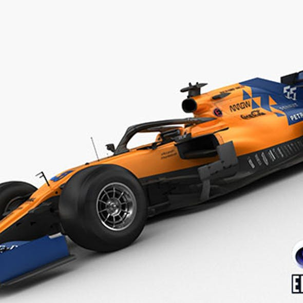 F1 McLaren MCL34