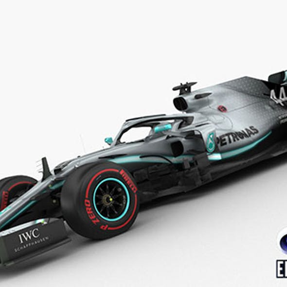 F1 Mercedes W10 2019