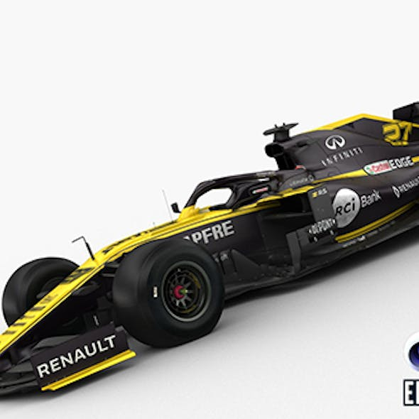 F1 Renault R.S 19 2019
