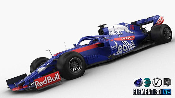 F1 Scuderia Toro Rosso STR 14 - 3DOcean Item for Sale