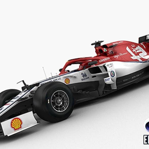 F1 Sauber C38 2019
