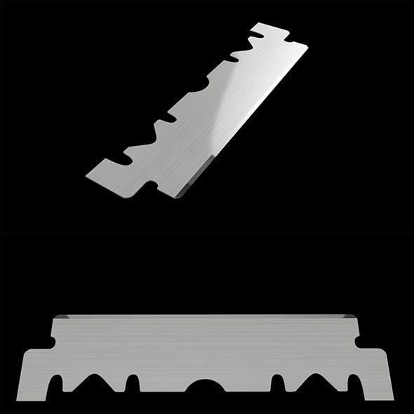 3D Single Edge Blade Razor