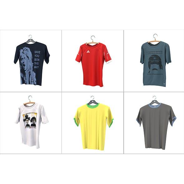 T-shirt on Hanger - 3DOcean Item for Sale