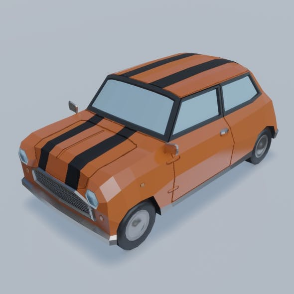 Car - Mini Cuper - 3DOcean Item for Sale