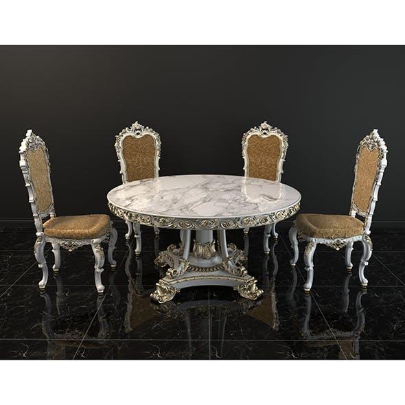 European Style Dinning Table