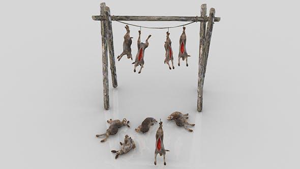 Pack of Dead Rabbits - 3DOcean Item for Sale