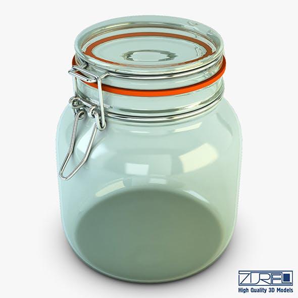 Jar hermetic 1 liter v 1