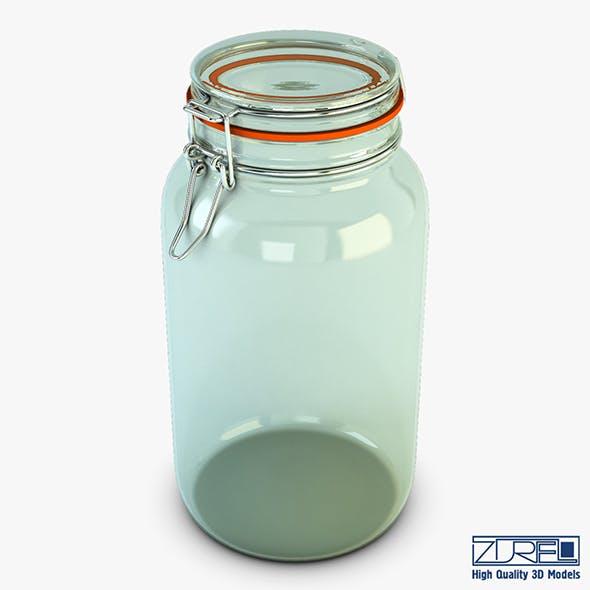 Jar hermetic 2 liter v 1