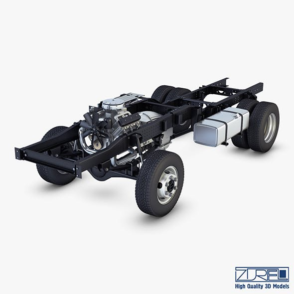Truck Chassis 4x4 v 1 - 3DOcean Item for Sale