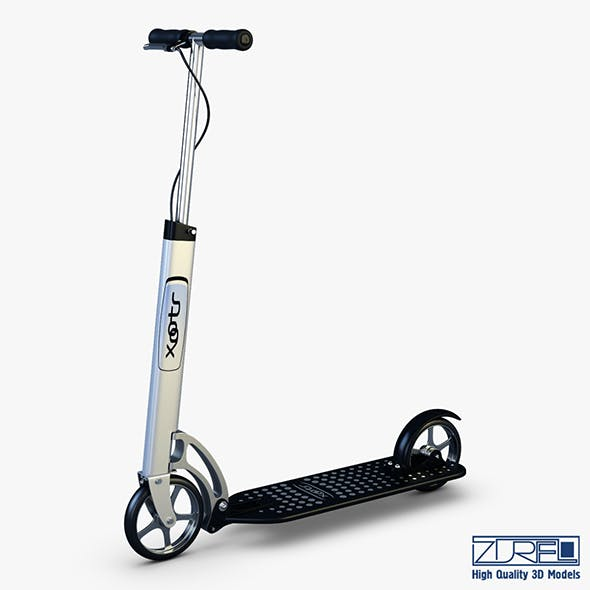 Xootr MG black - 3DOcean Item for Sale