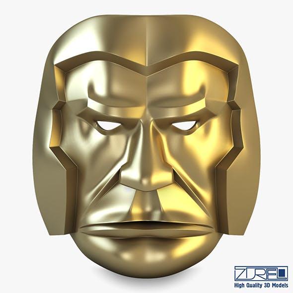 Bad man mask v 1 - 3DOcean Item for Sale
