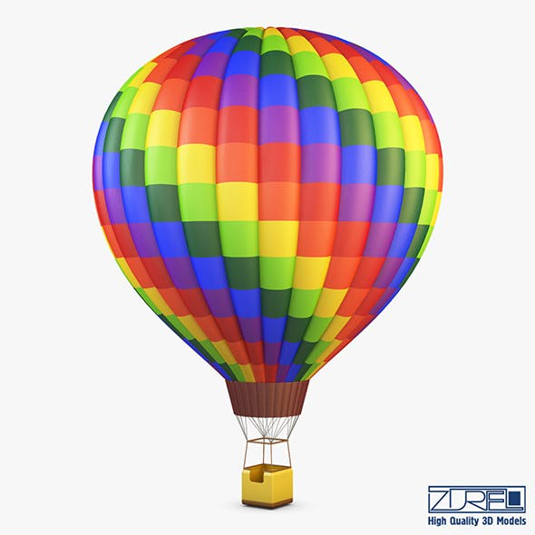 Hot Air Balloon v 1 - 3DOcean Item for Sale