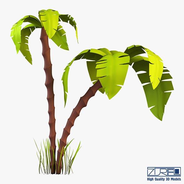 Palm tree v 3 - 3DOcean Item for Sale