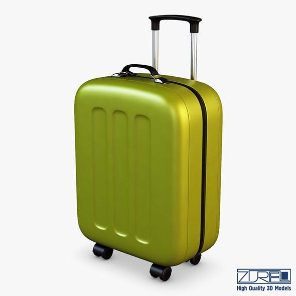 Suitcase green v 1 - 3DOcean Item for Sale
