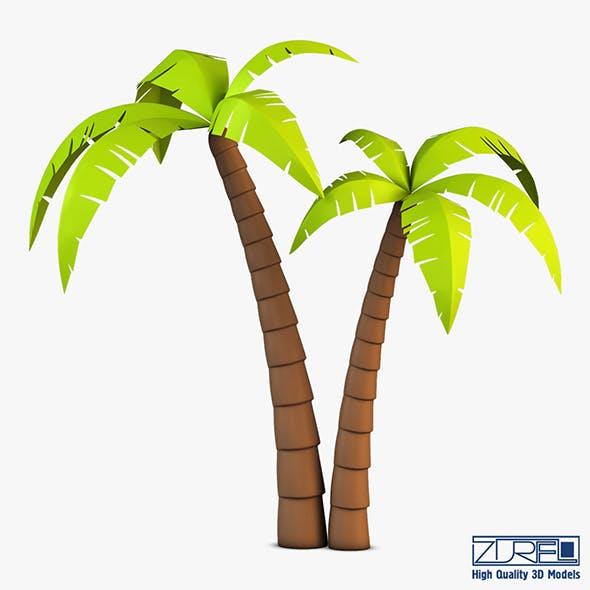 Palm tree v 4 - 3DOcean Item for Sale