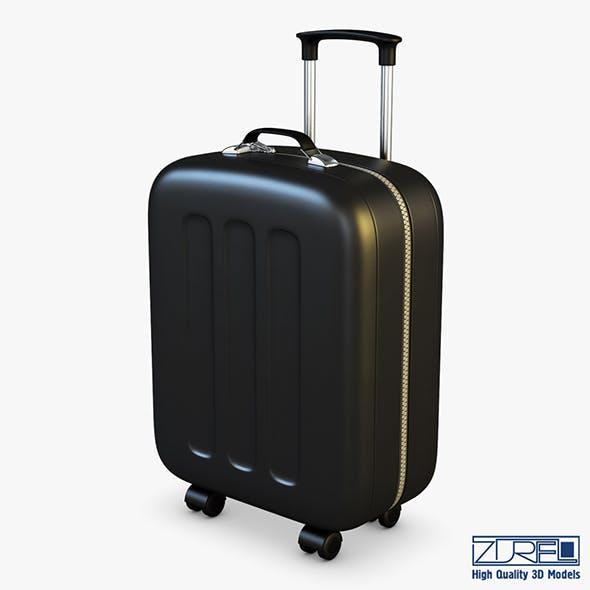 Suitcase black v 1 - 3DOcean Item for Sale