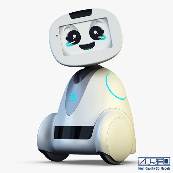 Buddy Robot white v 1 - 3DOcean Item for Sale