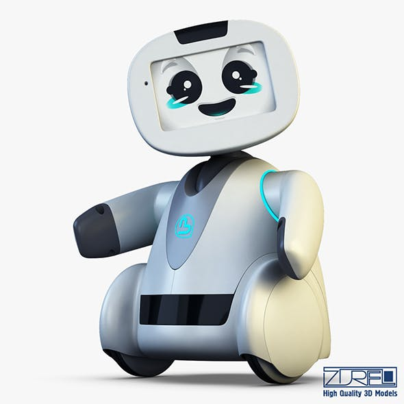 Buddy Robot white v 2 - 3DOcean Item for Sale