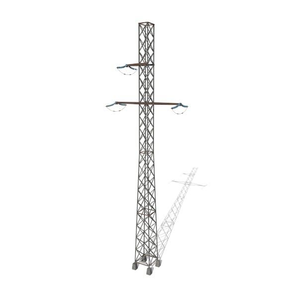 Electricity Pole 15 - 3DOcean Item for Sale