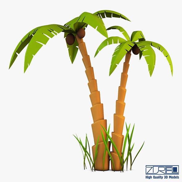 Palm tree v 5 - 3DOcean Item for Sale