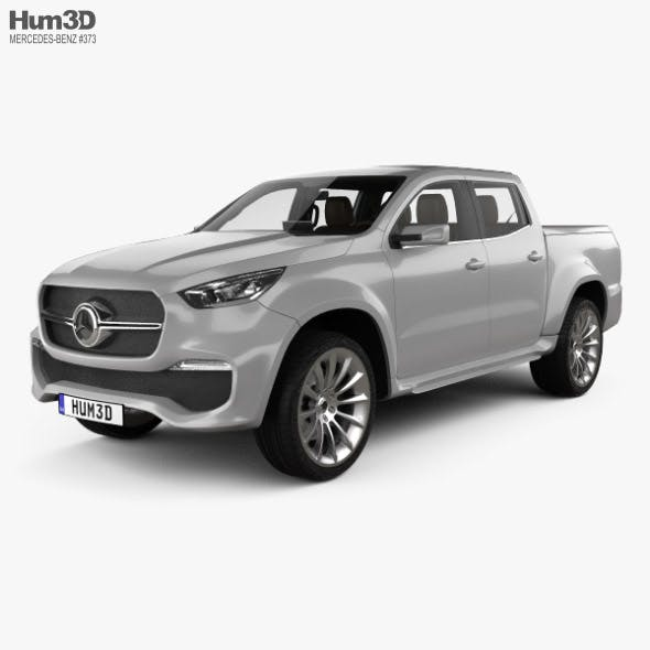 Mercedes-Benz X-class Stylish Explorer with HQ interior 2017 - 3DOcean Item for Sale