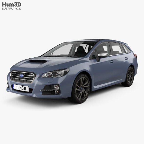 Subaru Levorg with HQ interior 2015 - 3DOcean Item for Sale