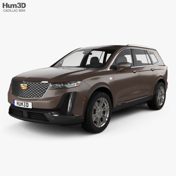 Cadillac XT6 Luxury 2020 - 3DOcean Item for Sale