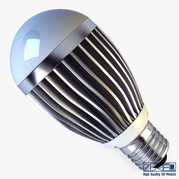 LED lamp v 1 - 3DOcean Item for Sale