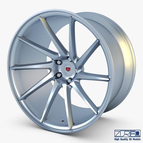 Vossen VPS-310T 19 wheel silver - 3DOcean Item for Sale