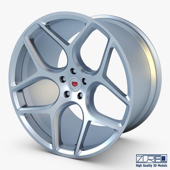 Vossen CG 205 19 wheel silver