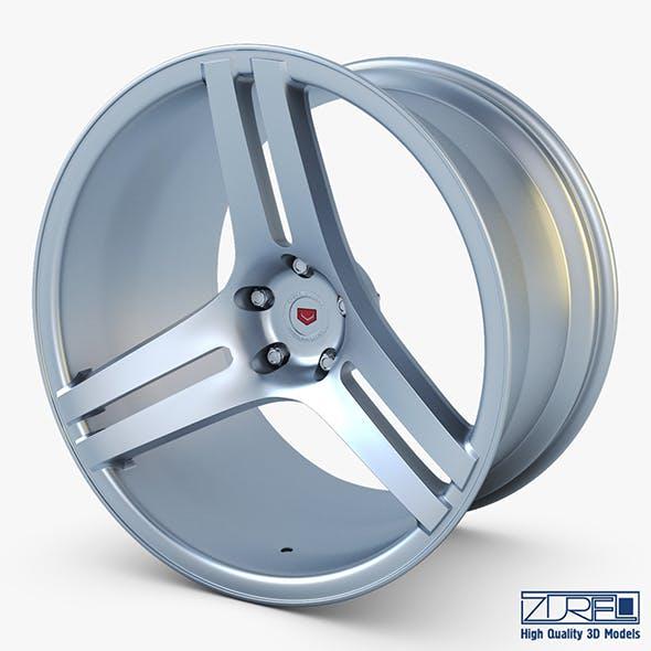 Vossen VPS-317 19 wheel silver - 3DOcean Item for Sale