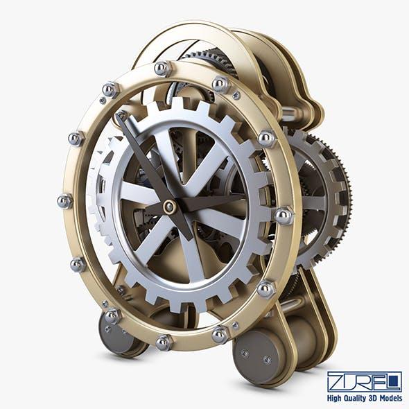 Gear alarm clock v 1 - 3DOcean Item for Sale