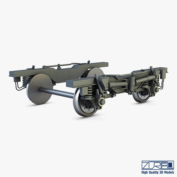 High speed train chassis v 1 - 3DOcean Item for Sale