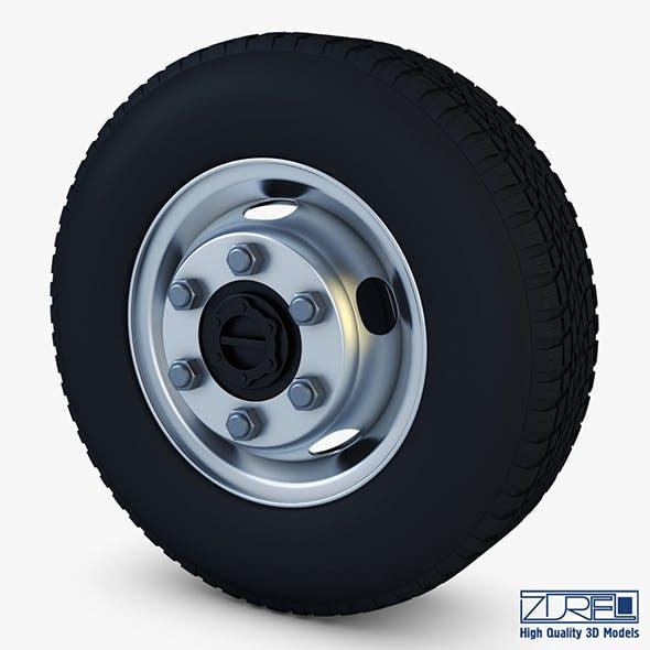 Truck Wheel v 1 - 3DOcean Item for Sale
