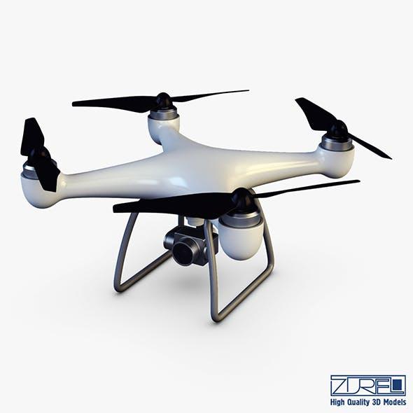 Drone Quadcopter v 1 - 3DOcean Item for Sale