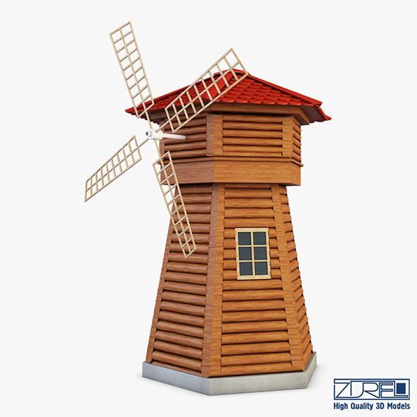 Windmill v 1 - 3DOcean Item for Sale