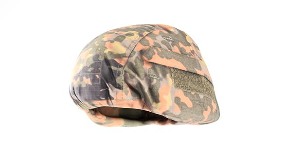 Bundeswehr military helmet with PBR textures 01 - 3DOcean Item for Sale