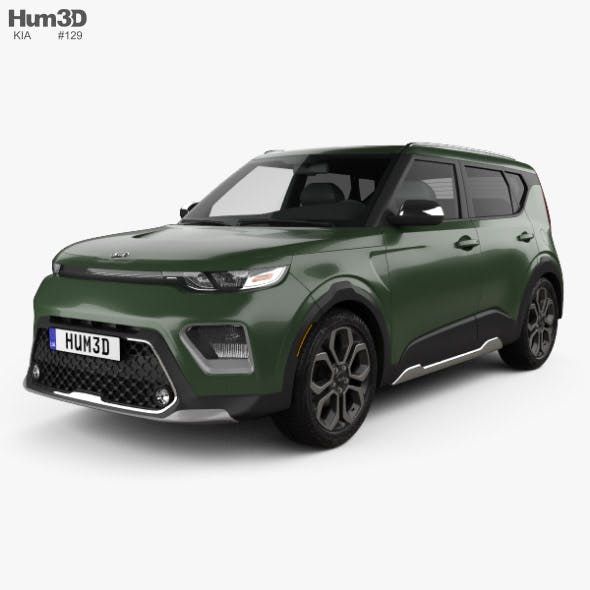Kia Soul X-Line 2019 - 3DOcean Item for Sale