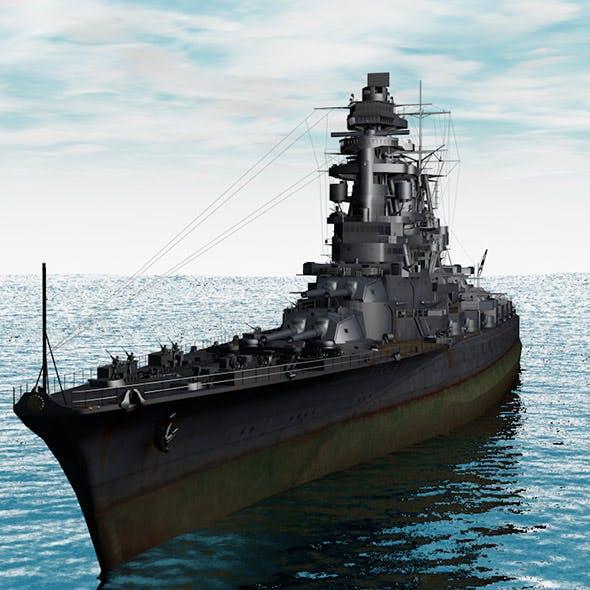 Warship Amagi