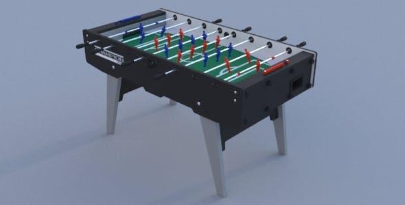 Football Table (Foosball Table) - 3DOcean Item for Sale