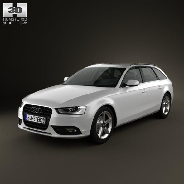 Audi A4 Avant 2013 - 3DOcean Item for Sale