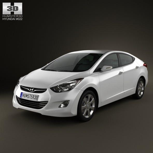 Hyundai Elantra (i35) Sedan 2012