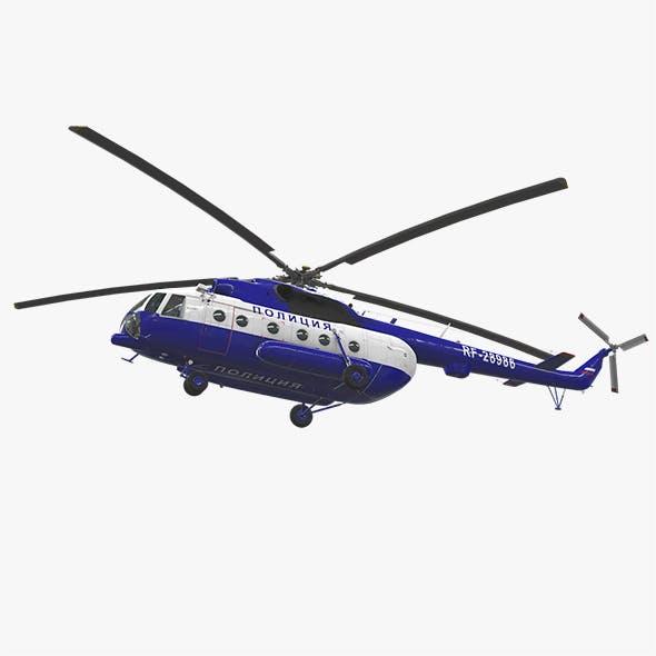 Mi-8AMT Russian Police
