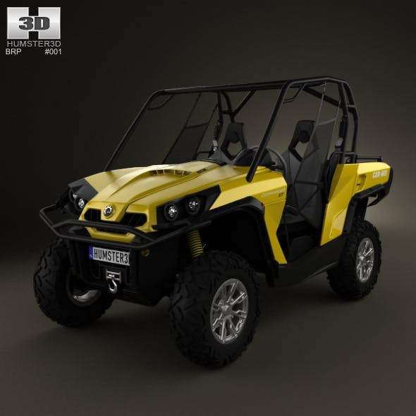 BRP Can-Am Commander 800R XT 2012