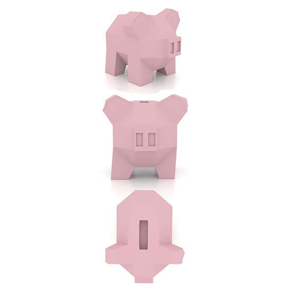 Low Poly Piggy Bank - 3DOcean Item for Sale