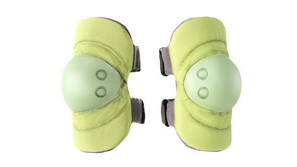 Military khaki knee pads 04 - 3DOcean Item for Sale