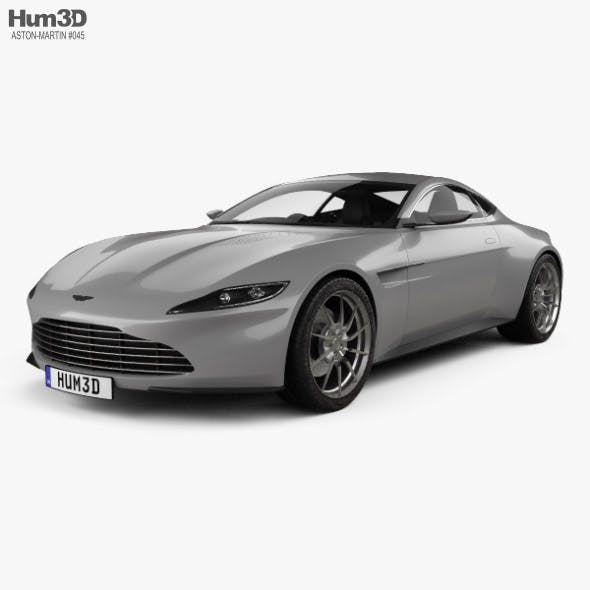 Aston Martin DB10 with HQ interior 2015 - 3DOcean Item for Sale