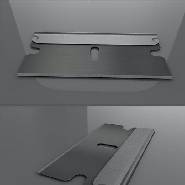 3D Single Edge Razor Blade