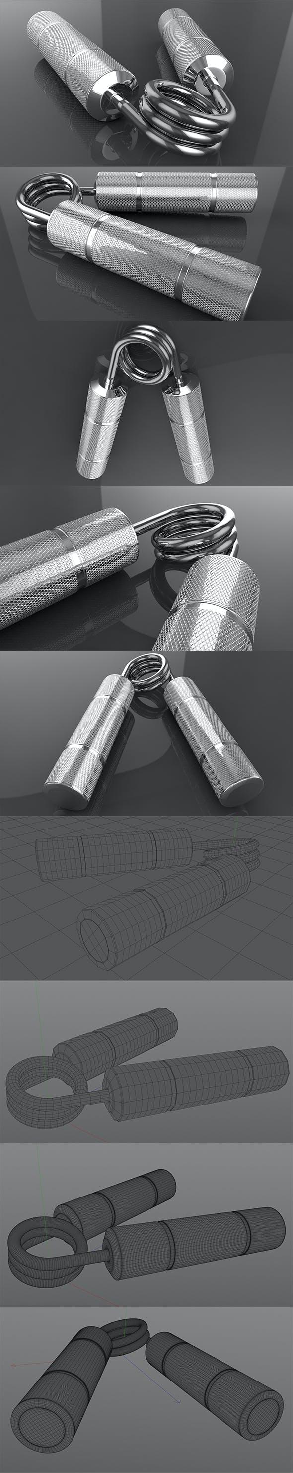 3S Steel Hand Gripper - 3DOcean Item for Sale