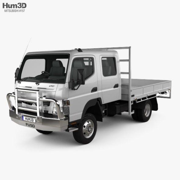 Mitsubishi Fuso Canter (FG) Wide Crew Cab Tray Truck 2016